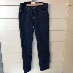 Madewell alley straight jeans like new